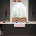 Dark Gray Kitchens