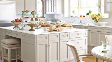 Pale Neutral Kitchens