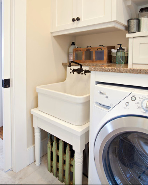 Classic Laundry Room Sink - Atticmag