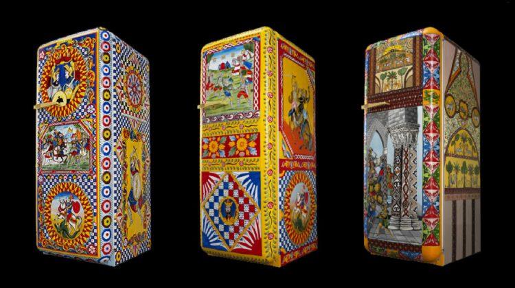 Dolce & Gabbana refrigerators - Smeg Fab28 special edition fridges designed by Dolce & Gabbana - Smegusa via Atticmag