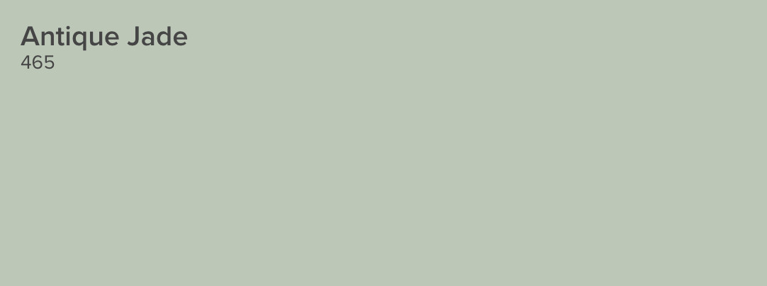 pale green kitchens - Par Four 470 pale green paint - Benjamin Moore via Atticmag