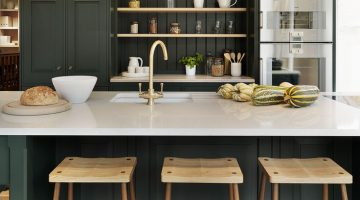 Dark Green Kitchens