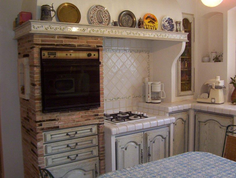 White Vintage French Kitchen
