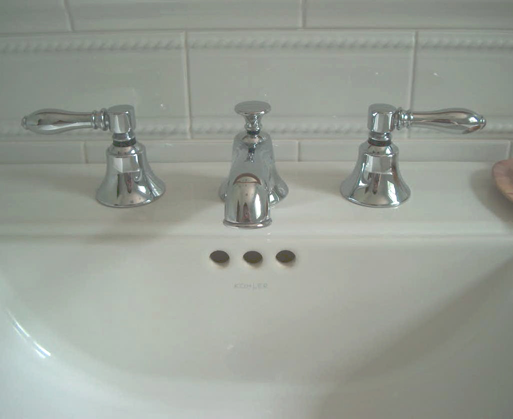 seafoam bath - Dornbracht Jefferson sink faucet - Atticmag