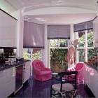 kitchen feature ideas - solarium and seating by Geoffrey Bradford via atticmag