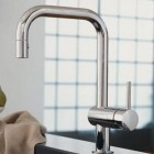top kitchen faucets - Grohe minta faucet is the top expert pick - Grohe via Atticmag
