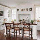 all white kitchen - white Christopher Peacock kitchen that set the trend - via Atticmag