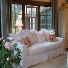 alabama stone cottage - shabby chic style guest room - Atticmag