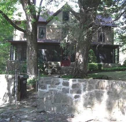 stone houses in Ulster County, NY in the Catskill Mountains
