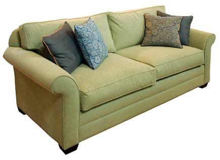 super fabrics - Crypton stain resistant Michelle sofa - Design Public via Atticmag