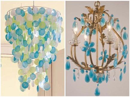 Turquoise chandeliers aloadofball Gallery