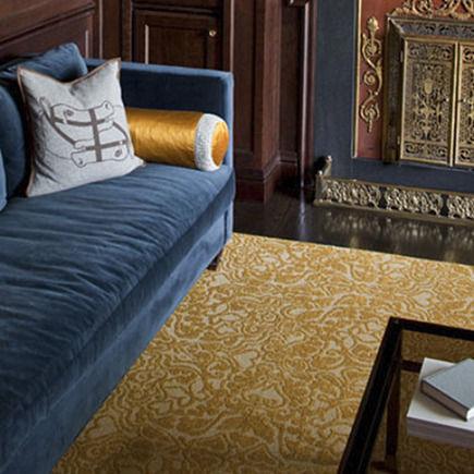 eco-friendly pattern modular floor tiles by Flor - via Atticmag