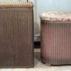 vintage lloyd loom lusty linen hampers -Atticmag