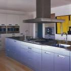 minimalist bulthaup b3 kitchen with Gaggenau appliances - Met Home via Atticmag