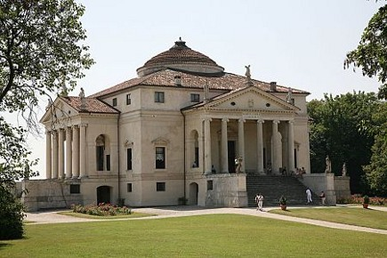 historic homes - Palladio's Villa Capra, La Rotunda - via atticmag