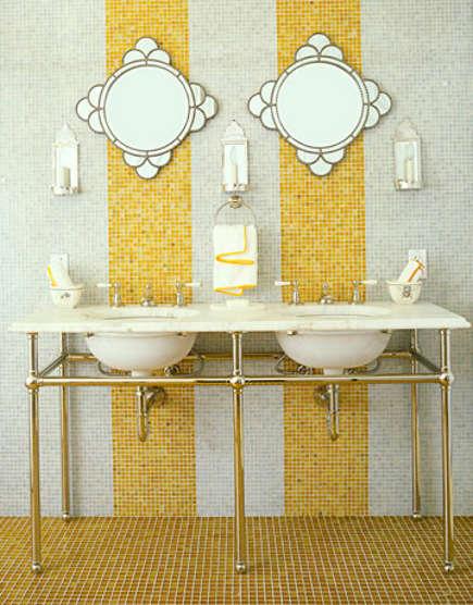 Waterworks Mosaic Bathroom