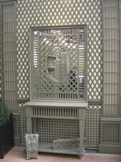 lattice walls - lattice styles by Accents of France - Atticmag