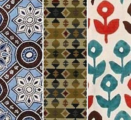 dhurries - details of dhurrie rugs - via Atticmag