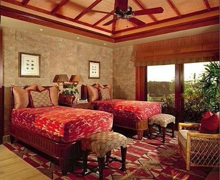 how to choose a bedroom rug - bedroom rug placement - via atticmag