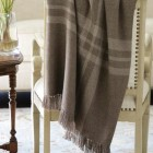holiday gift ideas - handmade baby alpace throw Dart T by Bodmer Blanket and Throws via Atticmag