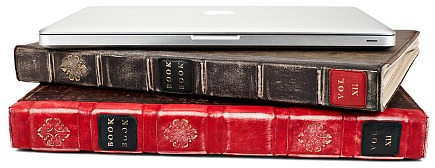 holiday gift ideas - leather bookbook case for macbook pro by twelve south via Atticmag