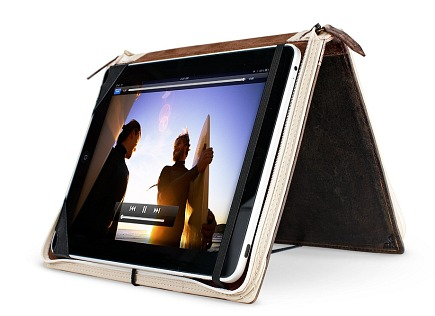 holiday gift ideas - bookbook leather cover for ipad by twelve south via Atticmag