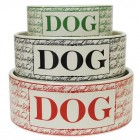 pet bowls - Harry Barker bon chien stoneware dog bowl - via Atticmag