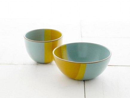 Health tableware - Ocean Pacific bowls from the Heath Ceramics Plaza line - Heath via Atticmag