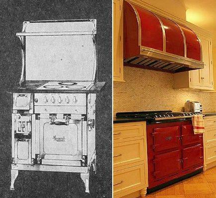 kitchens 1920-2010 - 1929 Monarch stove compared to 2009 Aga style - Atticmag