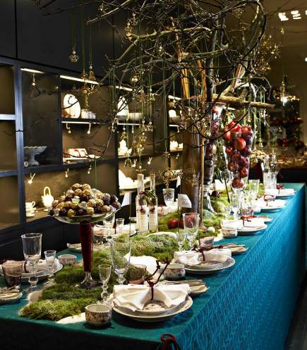 Royal Coopenhagen Christmas table from Gyldensteen Manor 2008