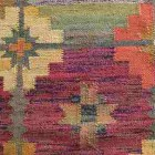 retro colored vintage polish kilim rugs - Atticmag