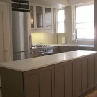 new kitchen - Budget kitchen renovation in NYC apartment - Atticmag