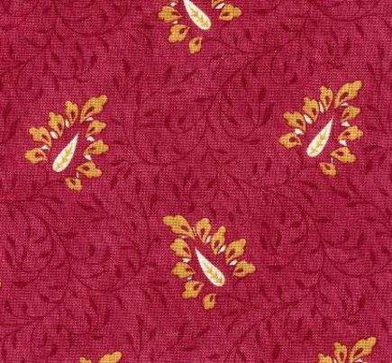 Pierre Deux Campano red calico fabric - Atticmag
