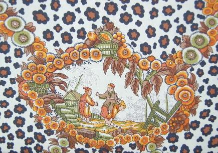 Brunschwig Fils Chinese leopard toile fabric - Atticmag