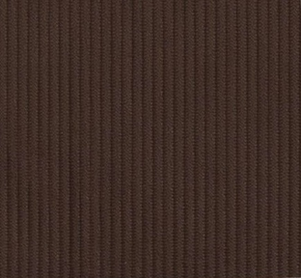 chocolate corduroy fabric from fabrics.com via Atticmag