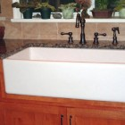 farm sink installation tutorial - Barb J via Atticmag