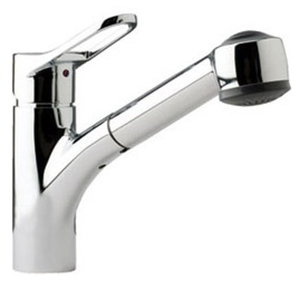 top kitchen faucets - Franke FFPS 200 Pull-Out Faucet - Franke via Atticmag
