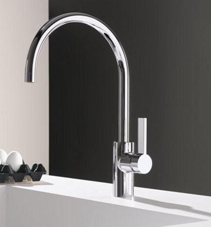 top kitchen faucets - Dornbracht Tara faucet - Dornbracht via Atticmag