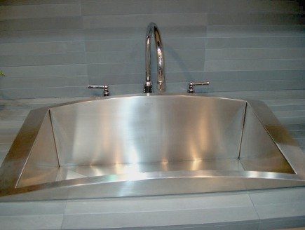 Kohler Verve stainless drop in single-bowl sink