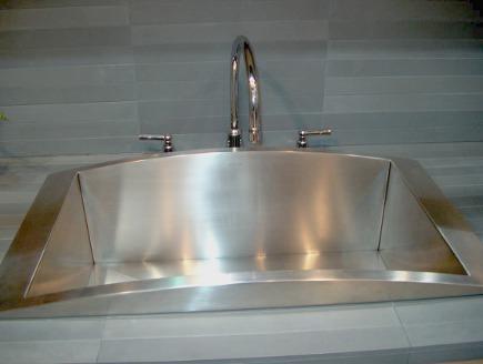 Kohler Verve stainless drop in single-bowl sink