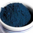 powdered woad blue - woad blue.org via atticmag