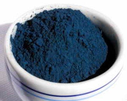 powdered woad blue - woad blue.org via atticmag