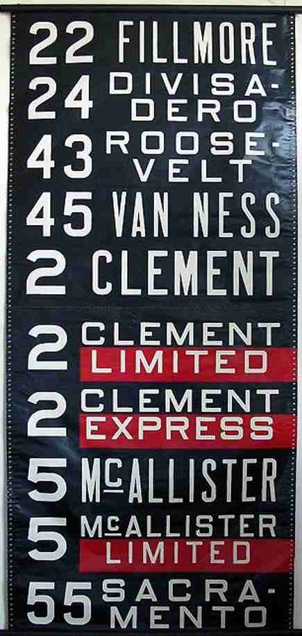 bus scrolls - collectible vintage bus scroll from Paris Hotel Boutique via Atticmag