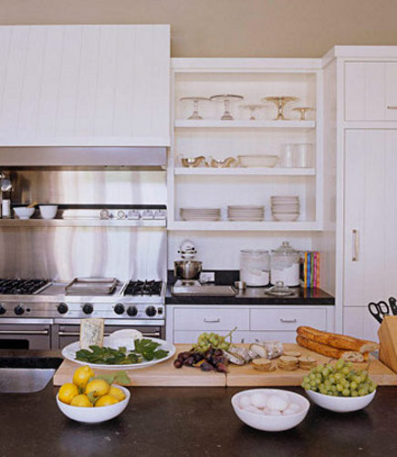 celebrity kitchens - Ina Garten's Long Island kitchen - HB via Atticmag