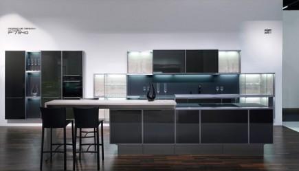 kitchen style - Porsche Design Kitchen P'7340 - via Atticmag