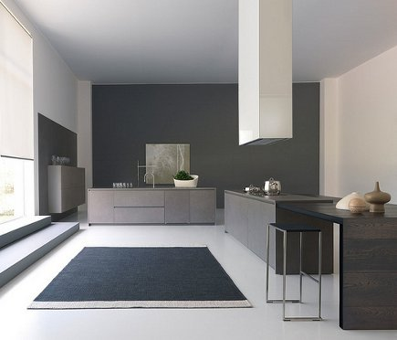 kitchen style - modulnova Italian kitchen - via Atticmag