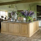 rustic Belgian country kitchen by Brigitte and Alain Garnier - via Atticmag