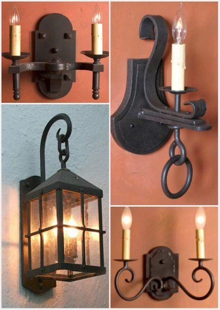 timeless design de80d 089dd Wrought Iron Light Fixtures