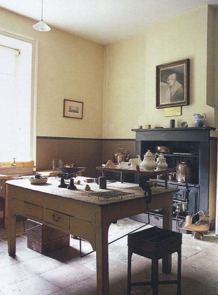 English kitchens - Petworth House kitchen still room - WOI via Atticmag