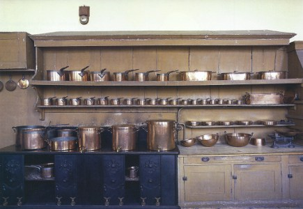 English kitchens at Petworth House - WOI via Atticmag